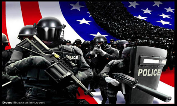 America Police State Ruthlessness Writ Large