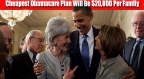 IRS: Cheapest Obamacare Plan Will Be $20,000 Per Family