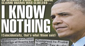 Multiplying scandals to hide the one scandal that could sink Obama