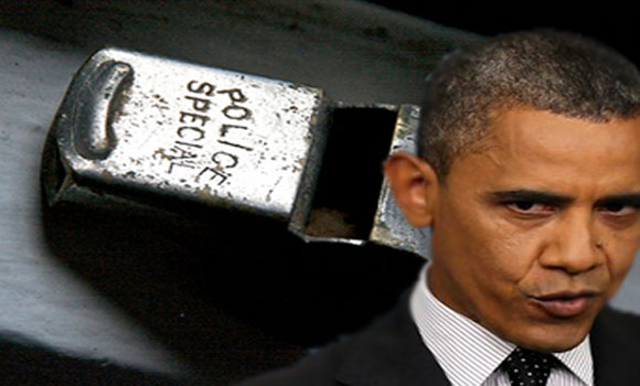 Obama Wants Whistleblowers Silenced