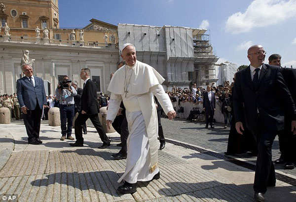 Pope admits there is a 'gay lobby' at the highest levels of the Vatican