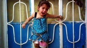 Toddler Forced To Watch Execution Of Parents While Chained By Obama-Backed Syrian Rebels