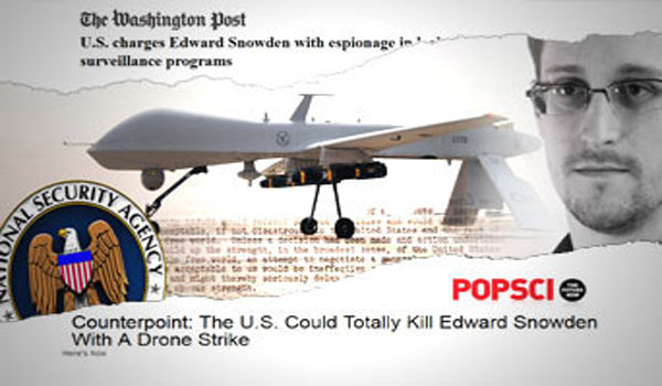 Will the U.S. Gov't Target Whistleblowers With Drones