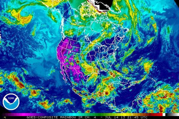 Bizarre Backwards Storm Strikes US This Week