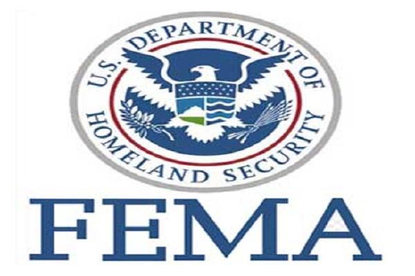 FEMA fazendo entregas em massa