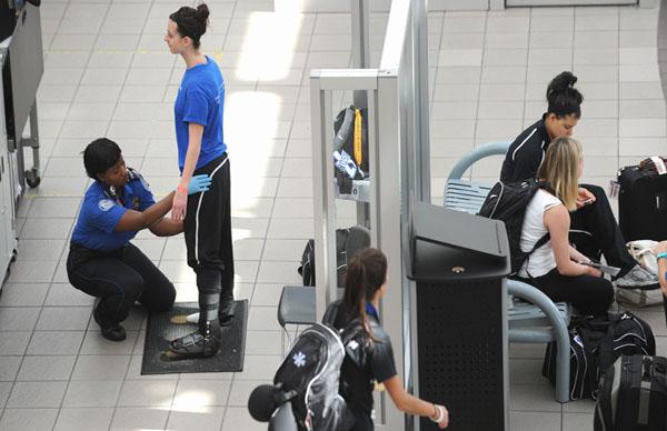 Feel-free fee TSA will grope you less for $85