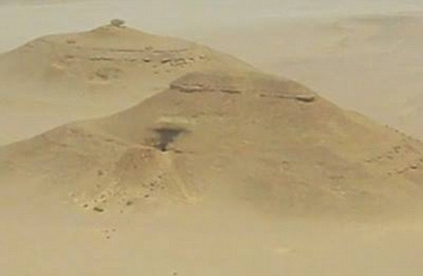 Have Egypt's long lost pyramids really been found on Google Earth Historical maps show sandy mound may hide monument larger than Giza