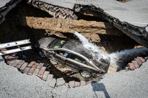 Holey Toledo  Two Dangerous Sinkholes in One Month