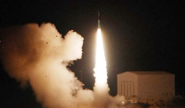 Israel test-fires nuclear-capable ballistic missile