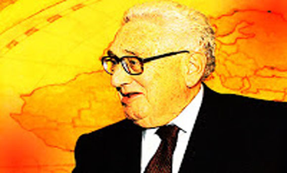 Kissinger 'Terrorists are really people that reject the international system'