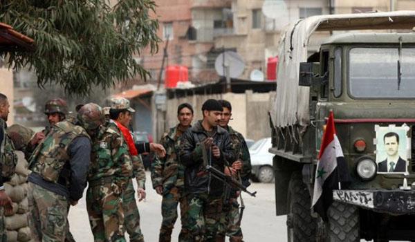 NATO Assad, a Rússia eo Irã estão prevalecendo na Síria