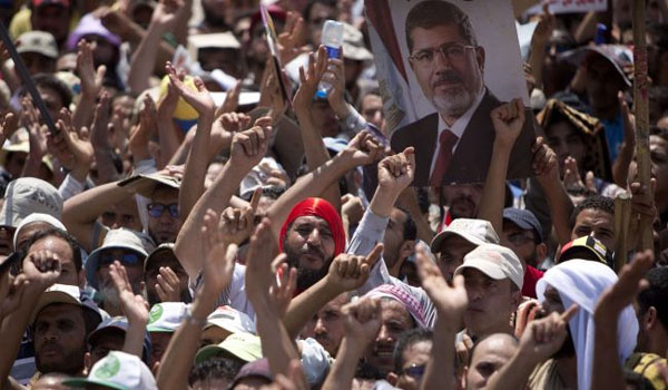 New World Order kills democracy in Egypt
