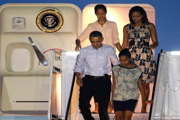 The Obama Family Goes on a Much-Needed Vacation…Again