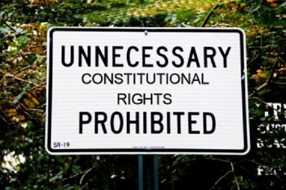 DHS Extinguishes 197 Million People's 4th Amendment Rights In Constitution Free Zones