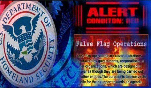 Drills, Props and Propaganda Predicting Large Scale False Flag Events