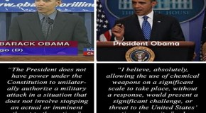 In 2007, Senator Obama Said Constitution Did Not Allow President to Authorize a Military Attack