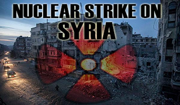 Ataque nuclear à Síria