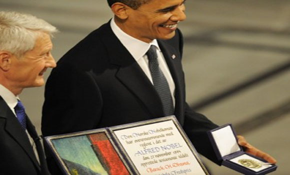 Obama should be stripped of his Nobel Peace prize if he starts Syria war