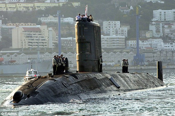 Revealed Shock 'Code Red' safety report on British nuclear subs as fleet is hit by leaking, cracked reactors and lack of trained staff