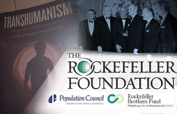 Duplo jogo de Rockefeller em Alimentos transgênicos eo despovoamento