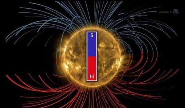 Sun's magnetic field will flip soon