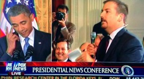 Video: Obama Flips Off NBCs Chuck Todd For Daring To Question Him At Press Conference