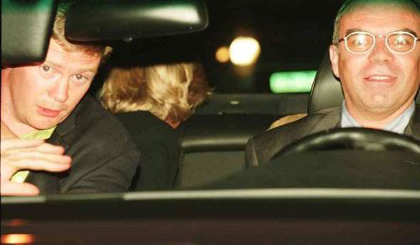 EXCLUSIVE SAS's lamping unit 'used laser to dazzle Princess Diana's driver'