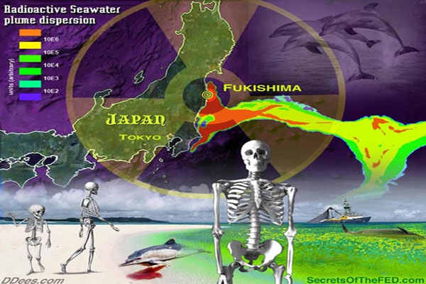 Fukushima Radiation Hitting US, Canada More Than Japan
