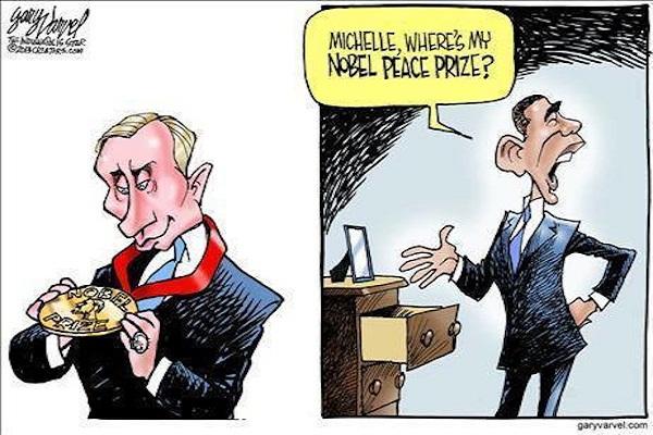 Obama pretende Guerra sobre a Síria