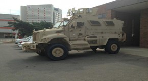 "Ohio State Gets Armored Fighting Vehicle: ""Specifically Designed for Asymmetric Warfare"""