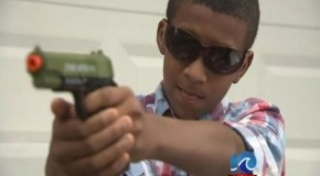Seventh Graders Suspended For Nine Months For Playing With Toy Gun… AT HOME