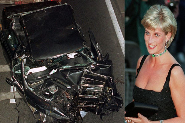 Special forces sniper who claimed SAS assassinated Diana by shining light into her driver's face 'has fled Britain'