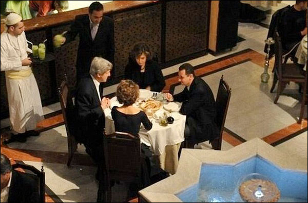 Tool of Betrayal John Kerry's Dinner with Bashar