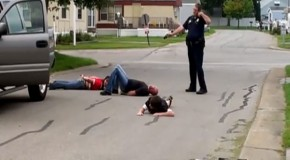 Video: Cop Caught on Camera Terrorizing Family in Bizarre