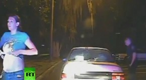 Video: Cops force woman to shake out her bra during traffic stop