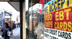 Americans headed over 'food stamp cliff'
