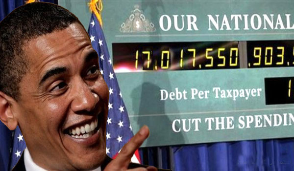 Another One Trillion Dollars (1,000,000,000,000) In Debt