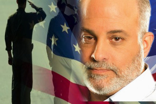 Audio Video Mark Levin Threatens Obama Lay One Hand On WW2 Vets, I'll Bring Half A Million People To Memorial