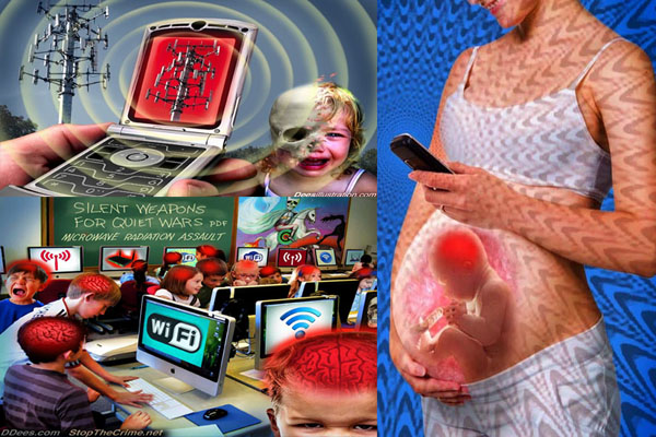 Cell Phones & Wi-Fi - Children, Fetuses and Fertility at Risk
