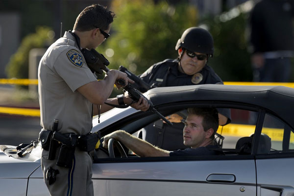 Innocent citizens held at gunpoint in terrifying California checkpoints