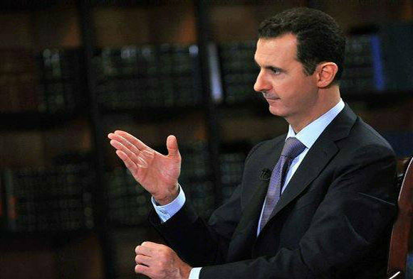 Syria ready for talks but not with terrorists Assad