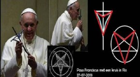 "Pope Francis' New Cross of the ""BEAST""–Displays Satanic Symbolism!"