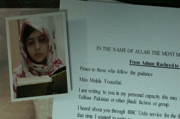 The Taliban's Letter to Malala Yousafzai