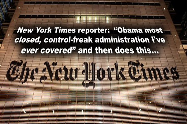 "Veteran New York Times Reporter ""This Is Most Closed, Control-Freak Administration I've Ever Covered"""