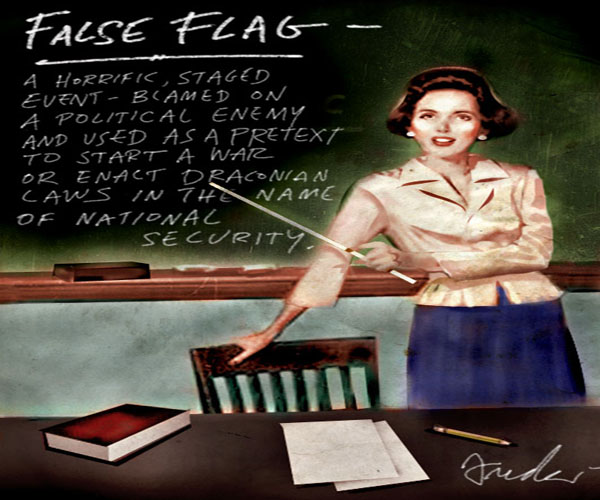 Americans Are Finally Learning About False Flag Terror