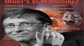 Bill Gates' Polio Vaccine Program Eradicates Children, Not Polio