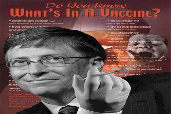 Bill Gates' Polio Vaccine Program Eradicates Children, Not Polio