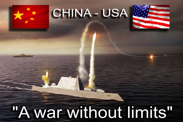 China 'challenging' US military power War Fears Rise After China Missile Tests Over Oregon