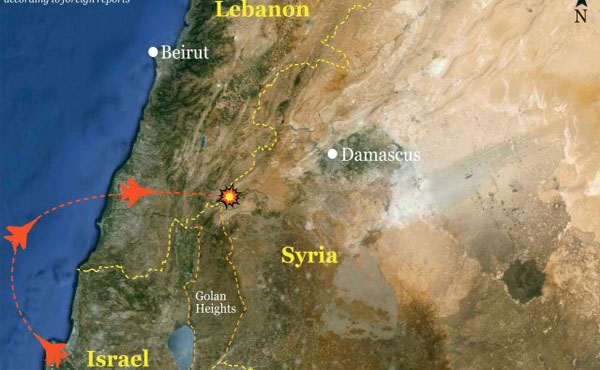 Confirmed Israeli Attack on Syria Air Defense Facility