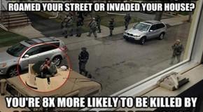 Cops Kill 8 Times More Americans Than Terrorists